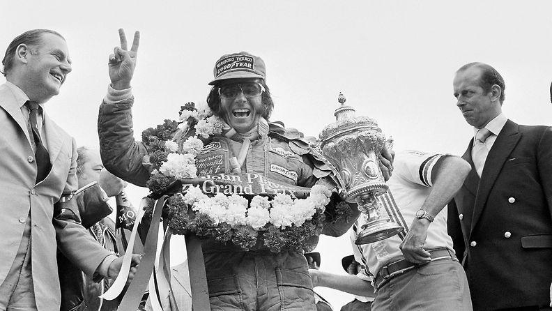 Emerson Fittipaldi, 1975, Silverstone