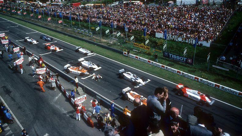 Zolder, Belgia, Belgian GP; 1981, Dave Lucket, Riccardo Patrese
