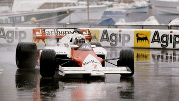 Alain Prost, Monaco, 1984
