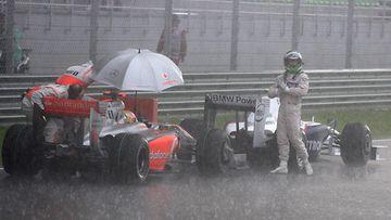 Nick Heidfeld, Lewis Hamilton, 2009