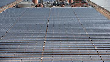 Aurinkoenergia, aurinko, aurinkovoimala, energia