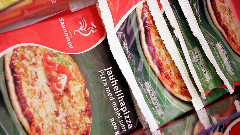Saarioisten mikropizza roiskeläppä einespizza