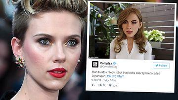 Scarlett Johansson robotti huhtikuu 2016
