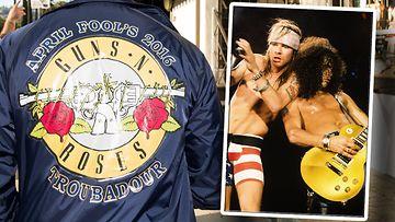 Guns N' Roses 2016, 1991