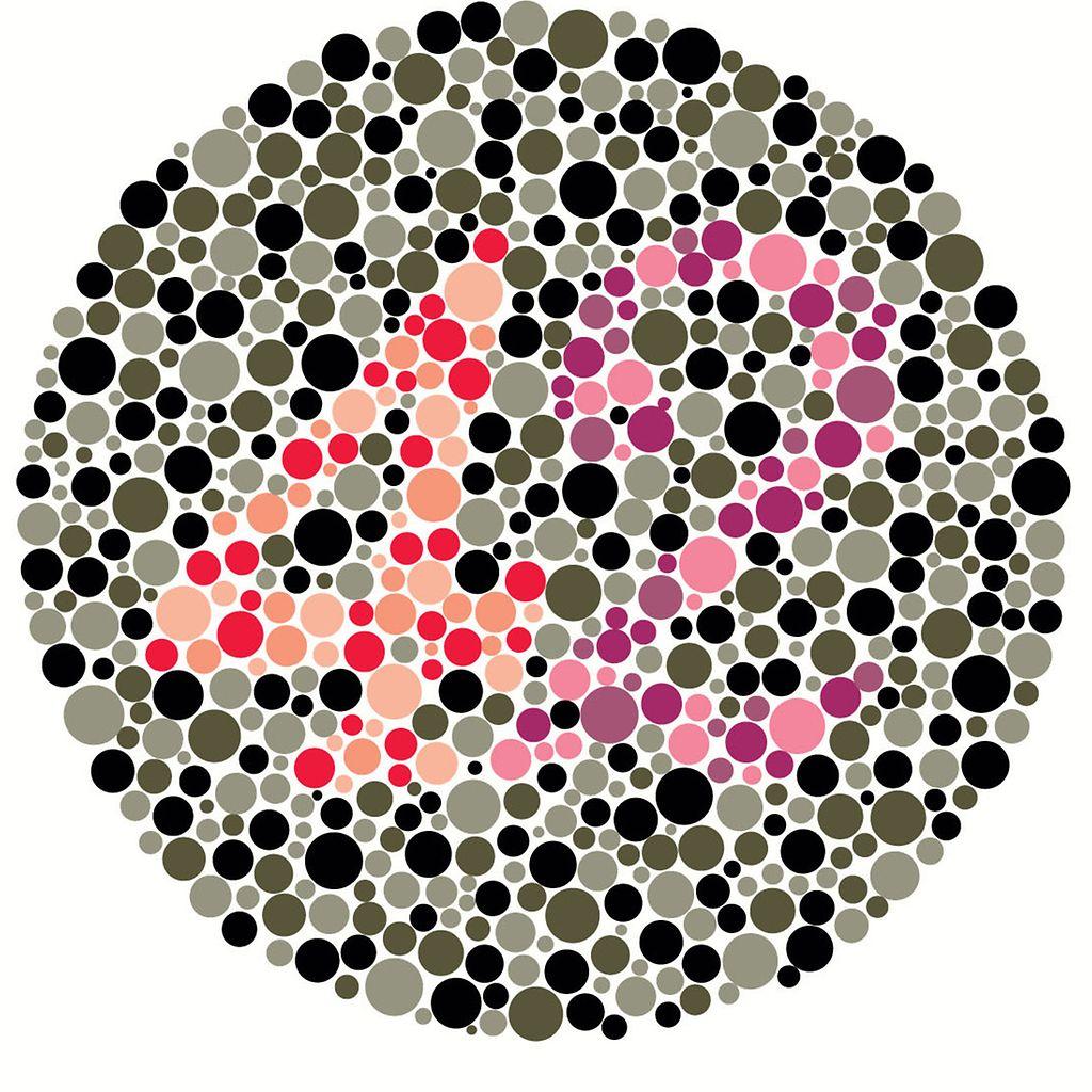 Värisokeustesti