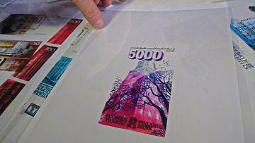 5000 markan seteli Erik Bruunin suunnittelema