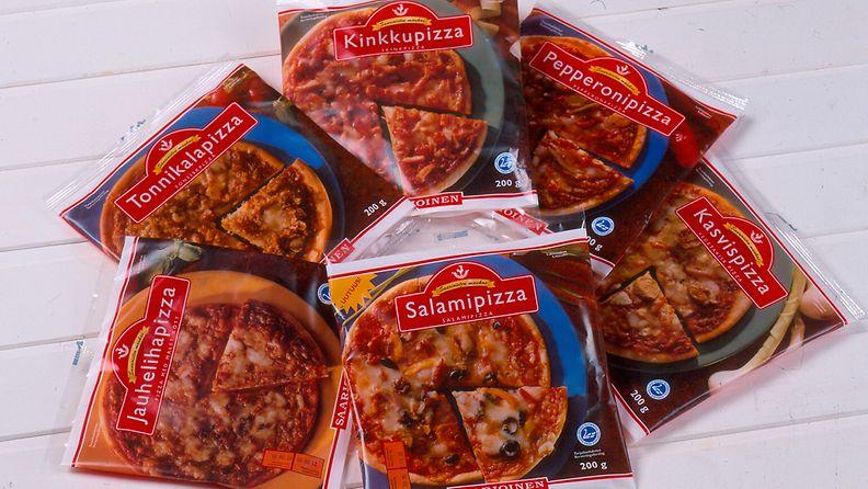 Mikropizza einespizza roiskeläppäpizza