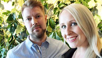 Lauri ja Elina Kottonen Relove-avajaisissa 13.4.2016 1