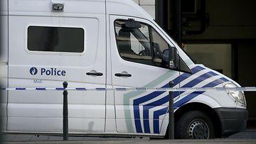 poliisiauto bryssel