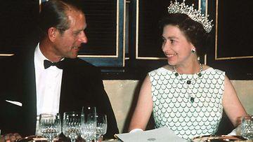 Elisabeth ja Philip vuosi 1970