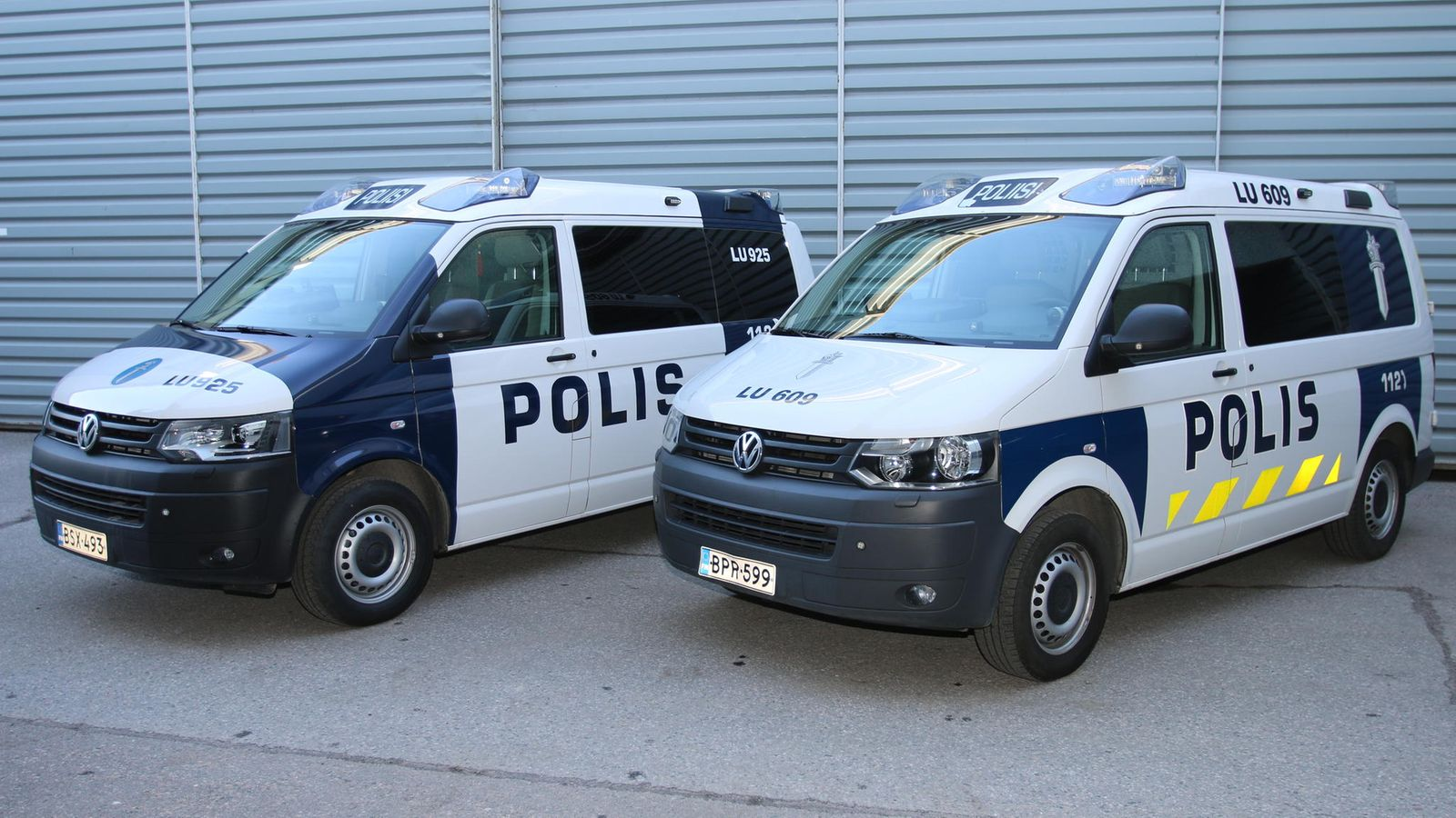 Poliisin Ajoneuvot