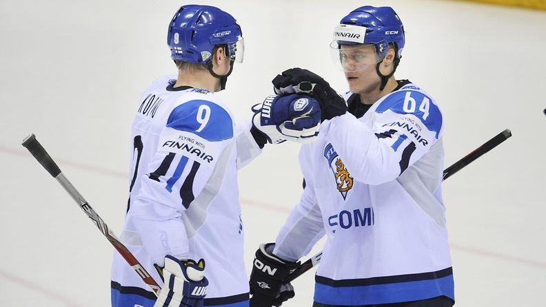 Mikko Koivu ja Mikael Granlund (1)