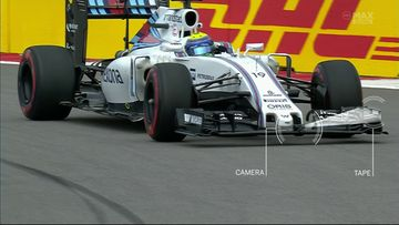 Felipe Massa 2016, kamera, etusiipi, Williams