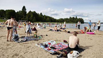 uimaranta, kesä, oittaa