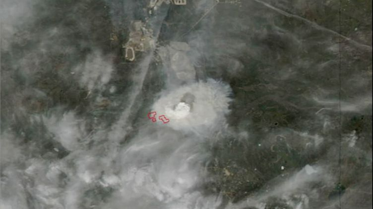 CA wildfires space nasa