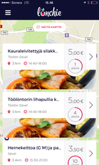 ylijäämälounaat lunchie