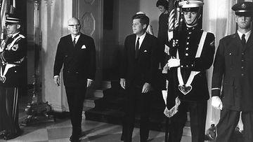 Urho Kekkonen ja John F. Kennedy