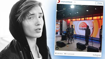 Isac Elliot Today Show'ssa 23.5.2016