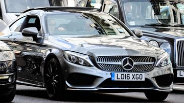 Mercedes-Benz C Coupe Brooklyn Beckham