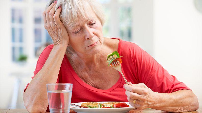 ruokahaluttomuus