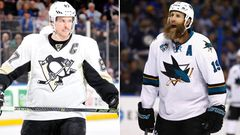 Sidney Crosby ja Joe Thornton