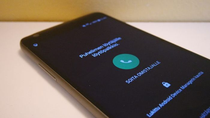 Paikanna Android Puhelin