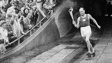 Paavo Nurmi, Helsinki 1952