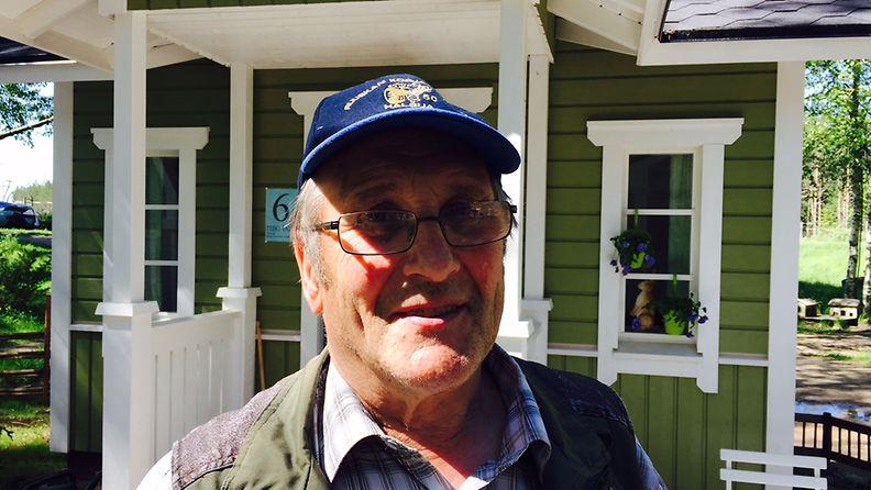 Matti Toivonen on Lasten asuntomessujen isä.