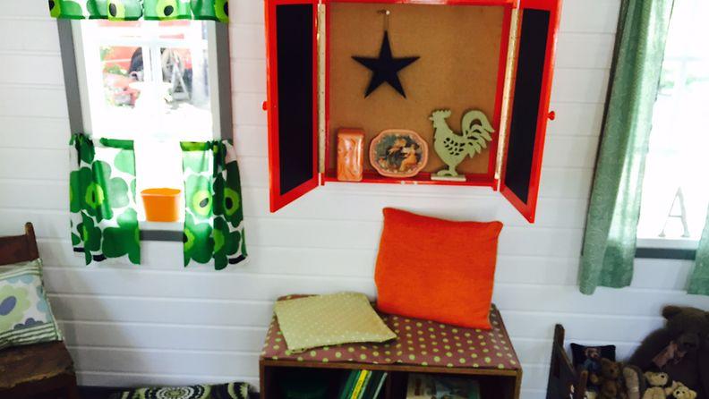 Värit ovat tärkeitä lasten asuntomessutaloissa.