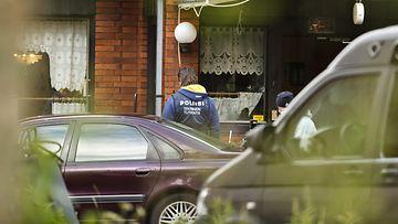 Vihti poliisiampuminen poliisisurma