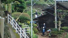 Ainakin kuusi kuollut tulvissa ja maanvy�ryiss� Japanissa