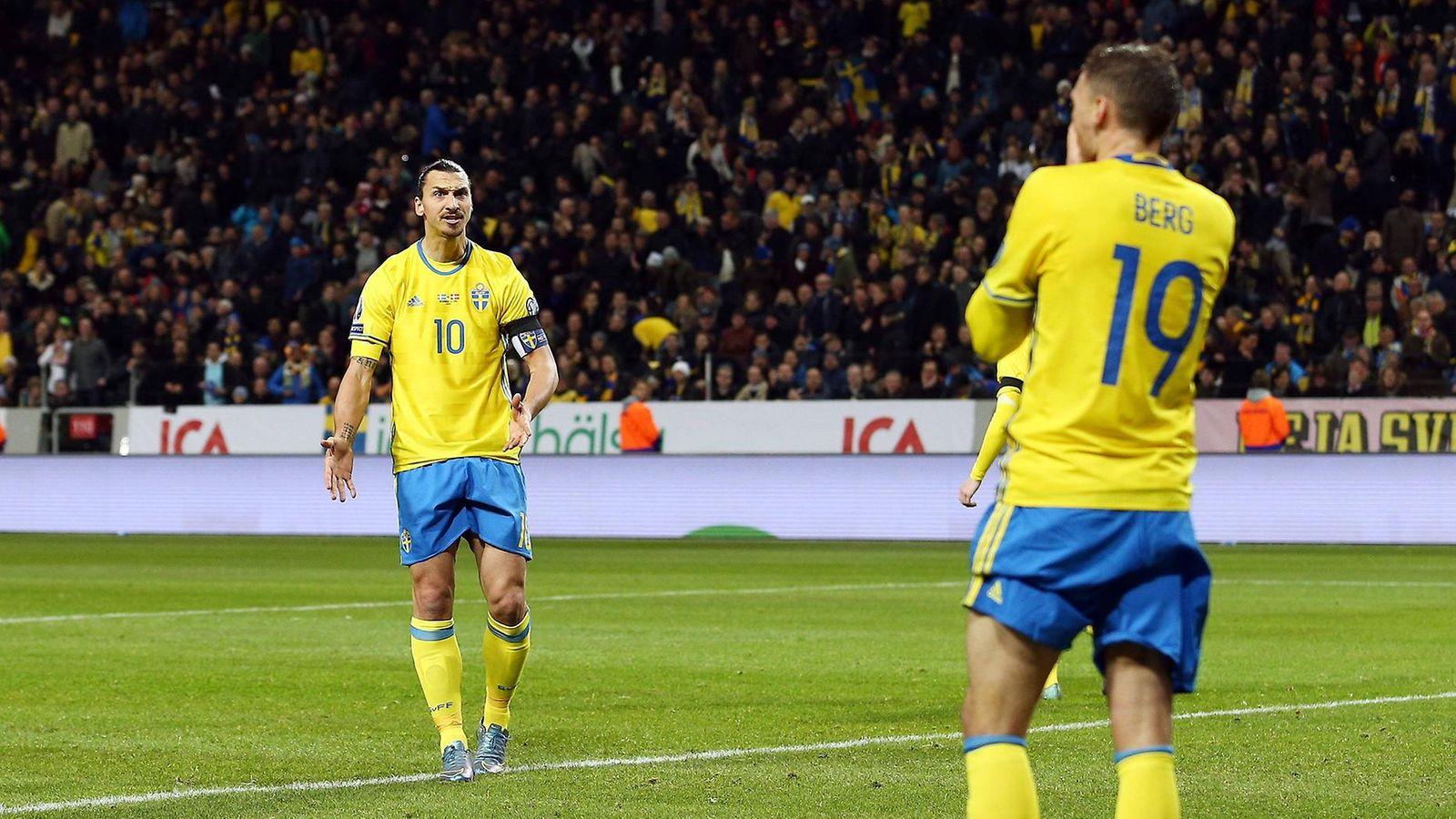 Nyt: Zlatanin rinnalla muutos - Ruotsille kelpaa vain täysi pistepotti - Maajoukkue - Jalkapallo ...