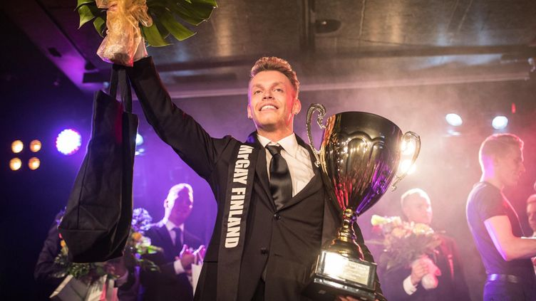 Mr Gay Finland 2016 Marko Fali 2