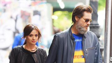 Cathriona White ja Jim Carrey