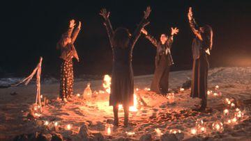 Noitapiiri 1996 5 Robin Tunney, Fairuza Balk, Rachel True, Neve Campbell