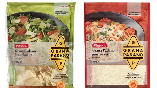 Grana Padano -juustot