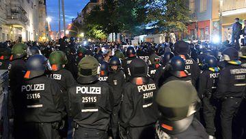 Saksa poliisit