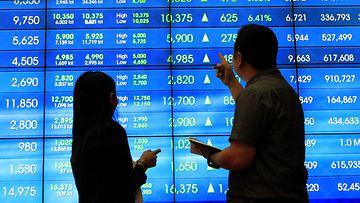 pörssi nousee aasia indonesia