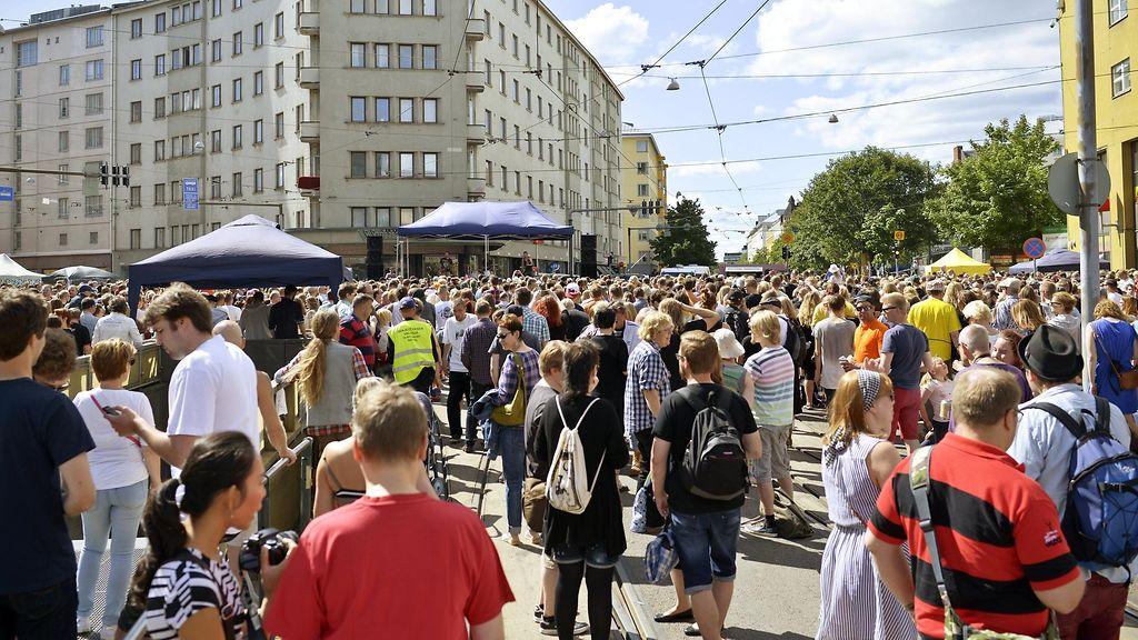 kallio block party 2015 Joensuu