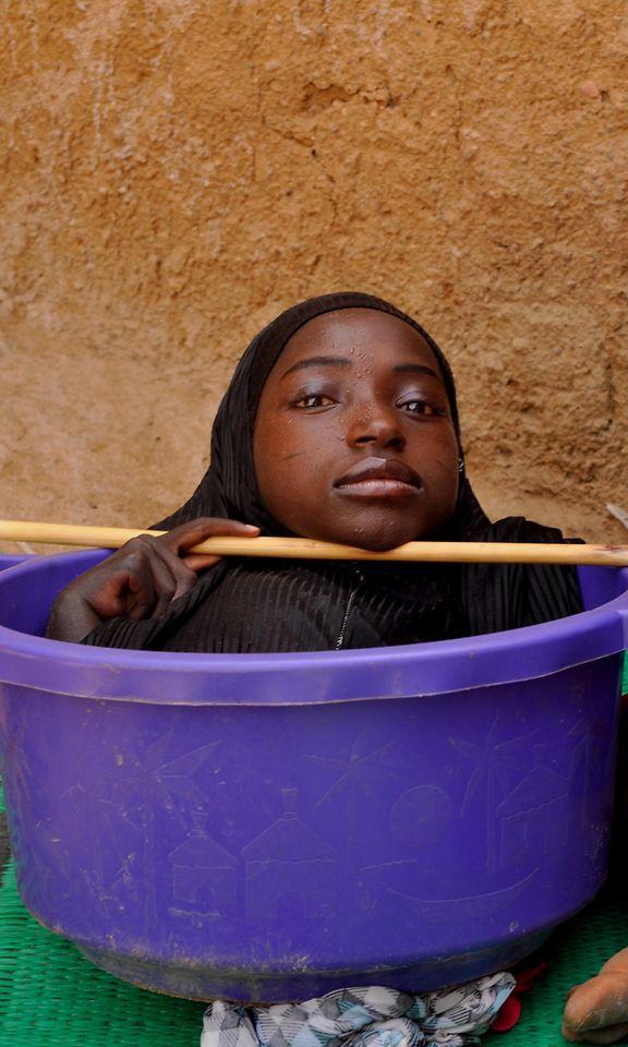 Seksikäs etelä-afrikkalainen musta tyttö-7212
