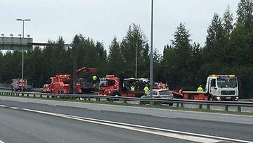 Lahden Moottoritie Onnettomuus