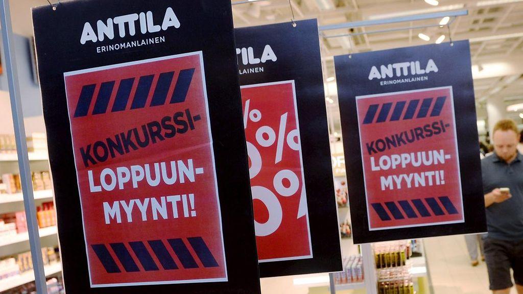 Anttila Konkurssi