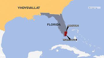 Jacksonville Kartta Kartat Jacksonville Florida Usa