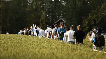 Ralli Jyväskylä 2016 yleisö