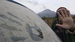 Tulivuori sylki tuhkaa Meksikossa – t�llainen tuhkakerros peitti autot