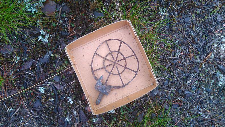 Sotasairaalan kaivauslöytö Inari 2