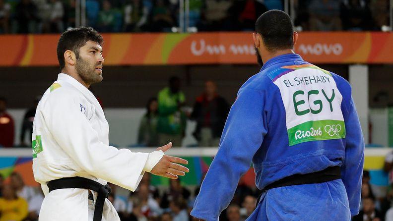 Islam El Shehaby, Or Sasson, 2016 Rio (1)