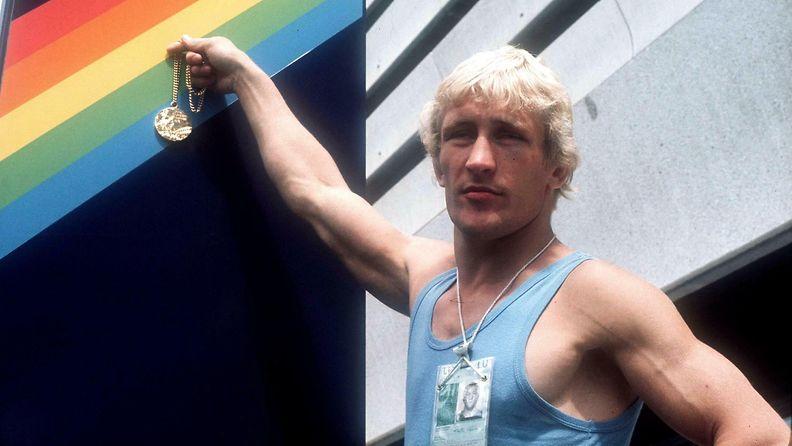 Pertti Ukkola voitti kultaa, Montreal 1976