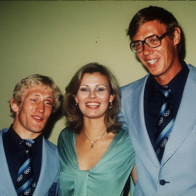 Pertti Ukkola, Anne Pohtamo ja Pertti Karppinen 1976.