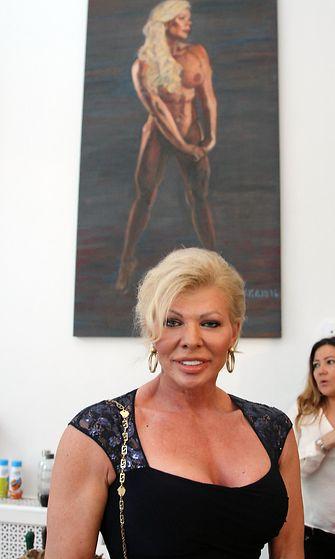 Tiina Jylhä ja alastonmaalaus 16.8.2016
